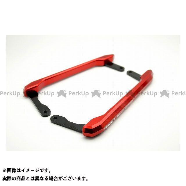 【特価品】RIDEA MT-09 タンデム用品 アルミ削り出しグラブバー(レッド) リデア