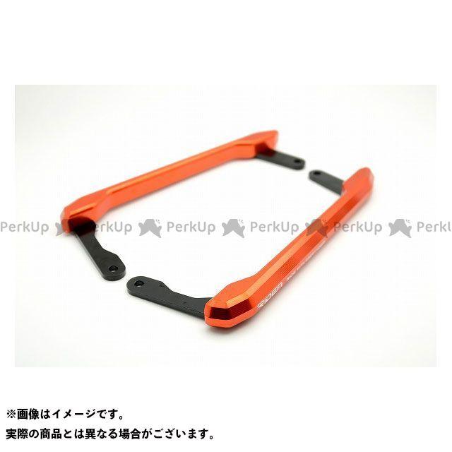 【特価品】RIDEA MT-09 タンデム用品 アルミ削り出しグラブバー(オレンジ) リデア