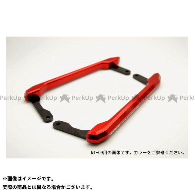 【特価品】RIDEA YZF-R25 YZF-R3 タンデム用品 アルミ削り出しグラブバー(レッド) リデア
