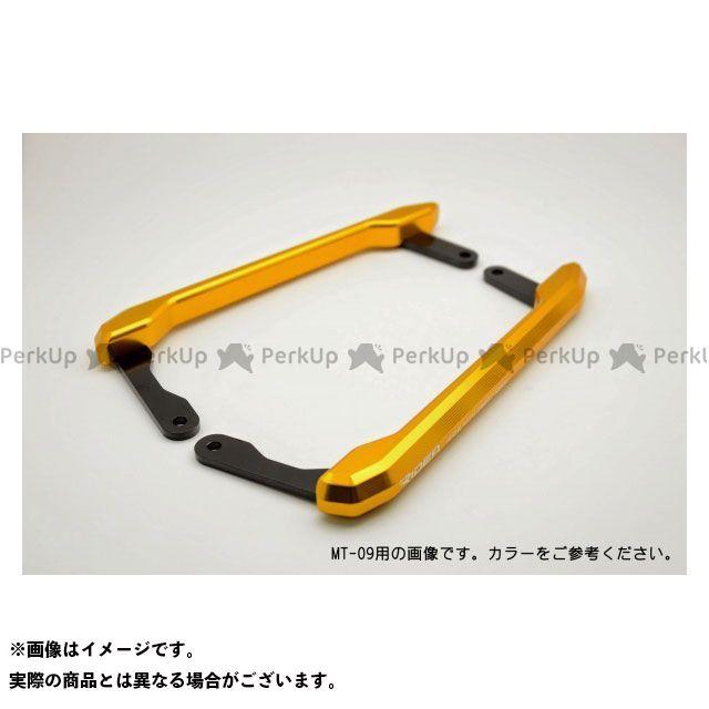 【特価品】RIDEA YZF-R25 YZF-R3 タンデム用品 アルミ削り出しグラブバー(ゴールド) リデア