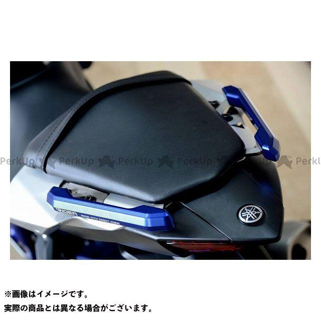 【特価品】RIDEA MT-03 MT-25 タンデム用品 アルミ削り出しグラブバー(ブルー) リデア