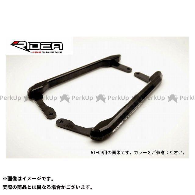 RIDEA MT-07 タンデム用品 アルミ削り出しグラブバー(ブラック) リデア