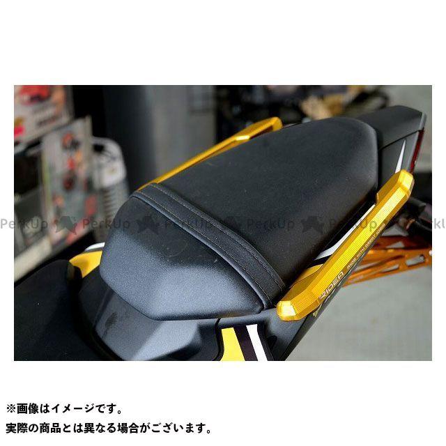 【特価品】RIDEA MT-07 タンデム用品 アルミ削り出しグラブバー(ゴールド) リデア