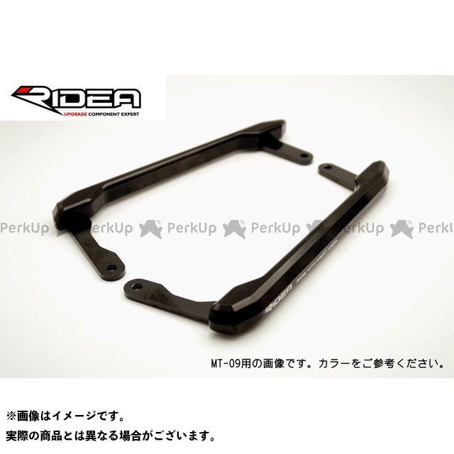 【特価品】RIDEA ビーウィズ100R ビーウィズ125 タンデム用品 アルミ削り出しグラブバー(ブラック) リデア