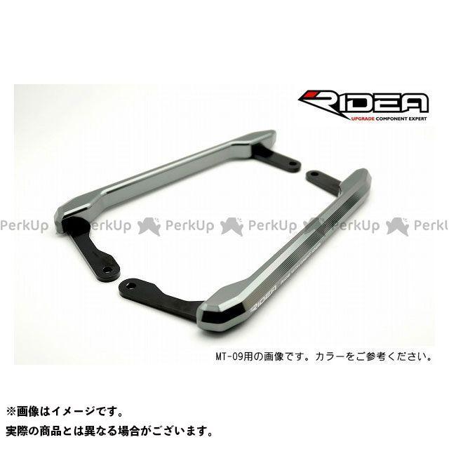 【特価品】RIDEA ビーウィズ100R ビーウィズ125 タンデム用品 アルミ削り出しグラブバー(チタン) リデア