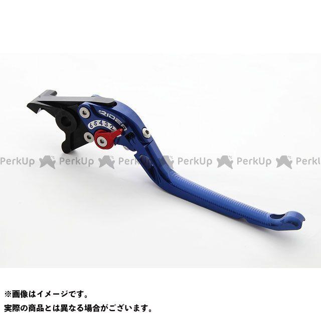 RIDEA 390デューク レバー 可倒式アジャストブレーキレバー(ブルー) アジャスト:シルバー リデア