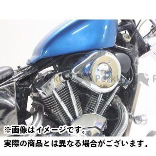 ガレージティーアンドエフ スティード400 その他外装関連パーツ ティアドロップ&プッシュロッドカバーキット ガレージT&F