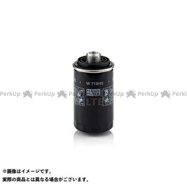 マンフィルター MANN-FILTER エンジン カー用品 MANN-FILTER エンジン W719/45 オイルエレメント マンフィルター