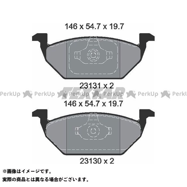 【エントリーで更にP5倍】TEXTAR ブレーキ 2313001 ブレーキパッド Textar