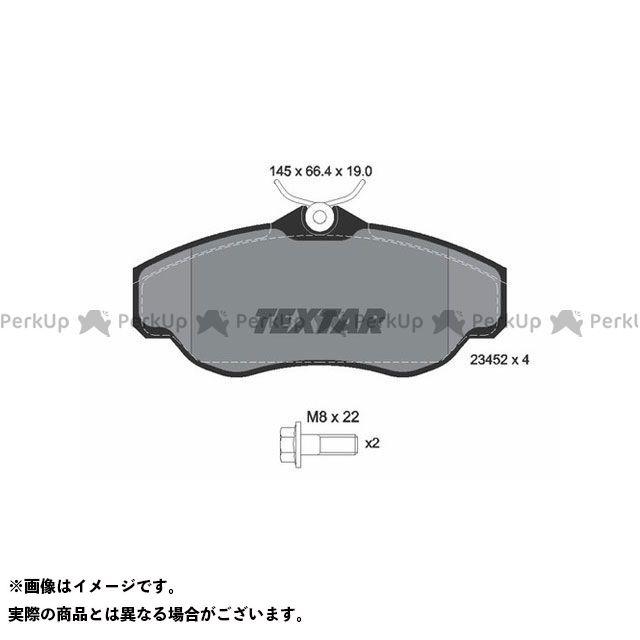【エントリーで更にP5倍】TEXTAR ブレーキ 2345201 ブレーキパッド Textar