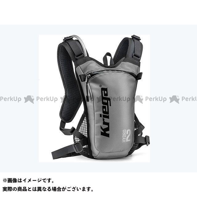 クリーガ ツーリング用バッグ バックパックハイドレーションパックHydro2シルバー HYRUC2-S Kriega