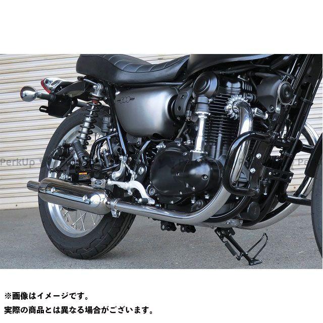 ビートジャパン W800 マフラー本体 NASSERT-TRAD マフラー(ステンレス/ステンレス) ヒートガードボス付き BEET