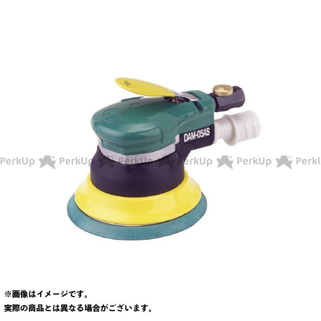 kuken エアーツール デュアルアクションサンダーAセット DAM-05ASA/S 空研