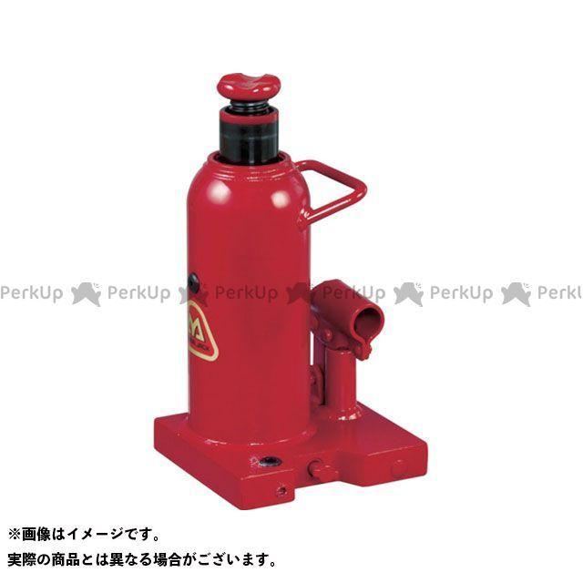 【無料雑誌付き】MASADA SEISAKUSHO 作業場工具 ポート穴付油圧ジャッキ MH10PP マサダ製作所