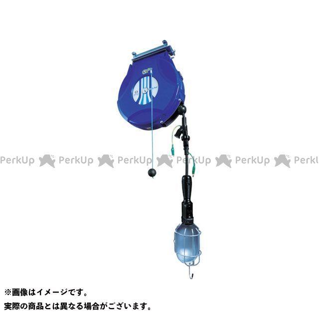 【エントリーで最大P21倍】nippeikiki 電動工具 リール ランプリールブレーキ式10M125V/10A(コード引き出し時) 日平機器