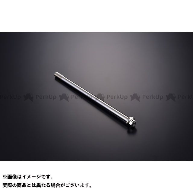 【エントリーで更にP5倍】ジークラフト 汎用 ハブ・スポーク・シャフト G'craft×KOOD クロモリアクスルシャフト M12-210mm Gクラフト