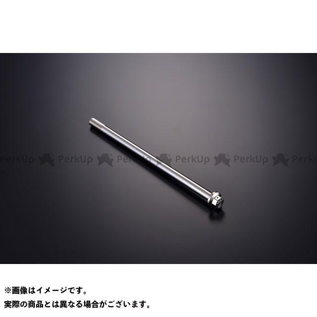 【エントリーで更にP5倍】ジークラフト 汎用 ハブ・スポーク・シャフト G'craft×KOOD クロモリアクスルシャフト M12-230mm Gクラフト
