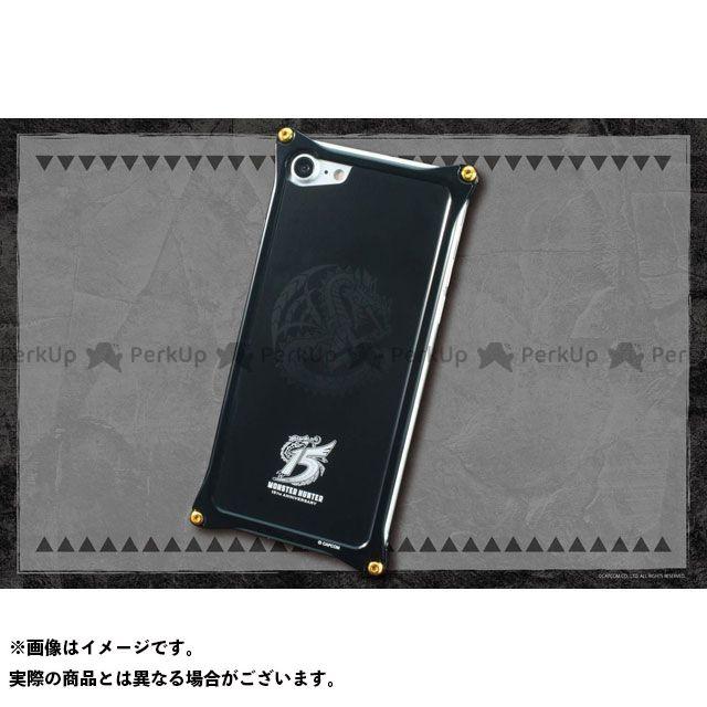 GILD design 小物・ケース類 GI-MON-18 GILD design MONSTER HUNTER ソリッドバンパー+アルミパネルfor iPhone 8/7(15周年モデル) GILD design(mobile item)