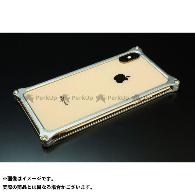 GILD design 小物・ケース類 GI-423S ソリッドバンパー for iPhone XS Max(シルバー) GILD design(mobile item)