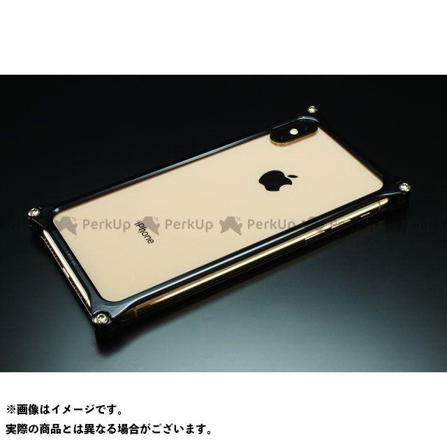 GILD design 小物・ケース類 GI-423B ソリッドバンパー for iPhone XS Max(ブラック) GILD design(mobile item)