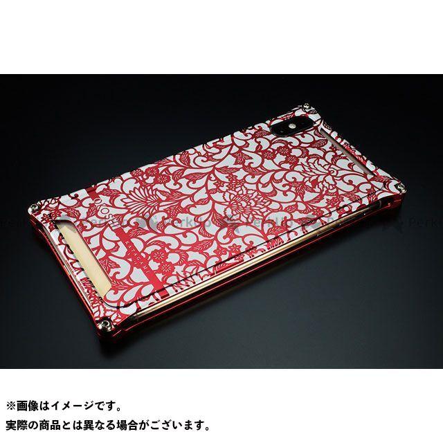 GILD design 小物・ケース類 GOK-423AR OKOSHI-KATAGAMI アラベスク for iPhone XS Max(レッド) GILD design(mobile item)