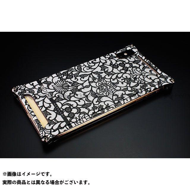 GILD design 小物・ケース類 GOK-423AB OKOSHI-KATAGAMI アラベスク for iPhone XS Max(ブラック) GILD design(mobile item)