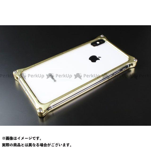 GILD design 小物・ケース類 GI-422CG ソリッドバンパー for iPhone Xs/X(シャンパンゴールド) GILD design(mobile item)