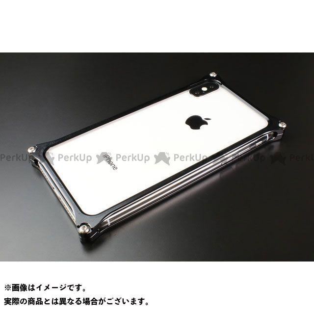 GILD design 小物・ケース類 GI-422B ソリッドバンパー for iPhone Xs/X(ブラック) GILD design(mobile item)