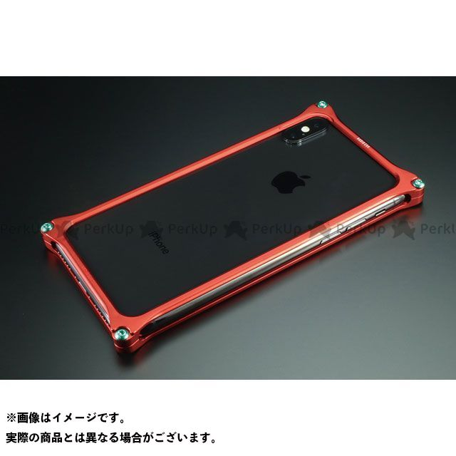 GILD design 小物・ケース類 GIEV-422MRA Solid Bumper for iPhone Xs/X(RADIO EVA Limited) Matte RED 式波・アスカ・ラングレー GILD design(mobile item)