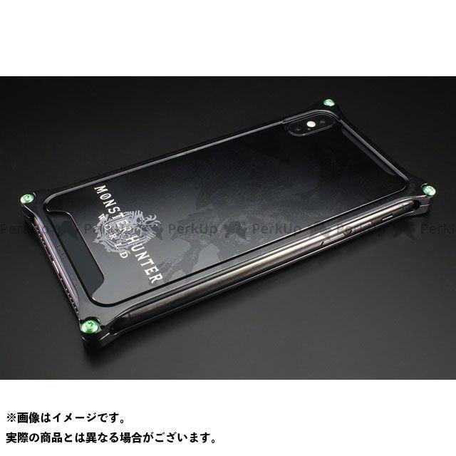 GILD design 小物・ケース類 GI-MON-5 MONSTER HUNTER: WORLD Solidbumper for iPhoneXs/X リオレウス ブラック GILD design(mobile item)