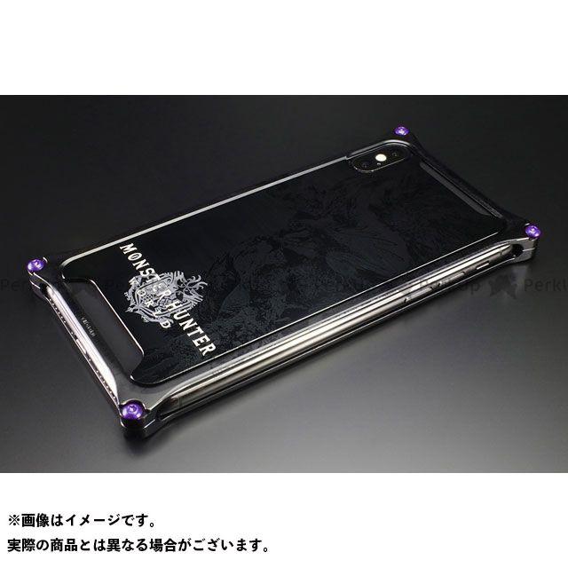 【エントリーで更にP5倍】GILD design 小物・ケース類 GI-MON-7 MONSTER HUNTER: WORLD Solidbumper for iPhoneXs/X ネルギガンテ ブラック GILD design(mobile item)
