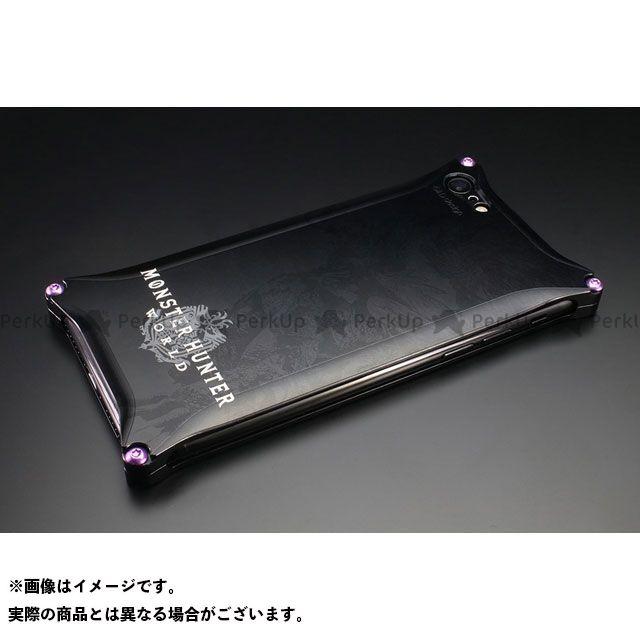 GILD design 小物・ケース類 GI-MON-9 MONSTER HUNTER: WORLD Solid for iPhone 8/7 ネルギガンテ ブラック GILD design(mobile item)