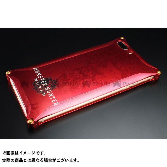 GILD design 小物・ケース類 GI-MON-12 MONSTER HUNTER: WORLD Solid for iPhone 8Plus/7Plus ネルギガンテ レッド GILD design(mobile item)