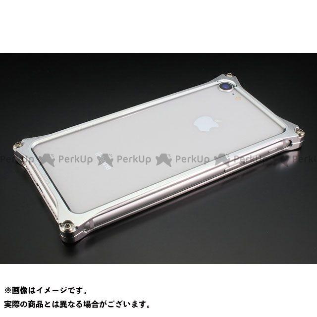 GILD design 小物・ケース類 GI-402S ソリッドバンパーfor iPhone 8/7(シルバー) GILD design(mobile item)