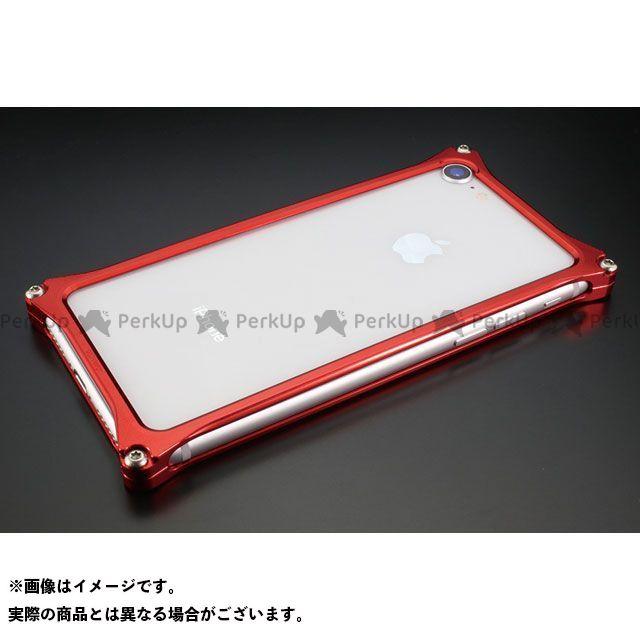 GILD design 小物・ケース類 GI-402R ソリッドバンパーfor iPhone 8/7(レッド) GILD design(mobile item)