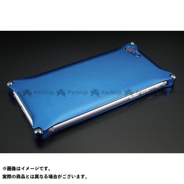 GILD design 小物・ケース類 GI-400BL ソリッドfor iPhone 8/7(ブルー)  GILD design(mobile item)