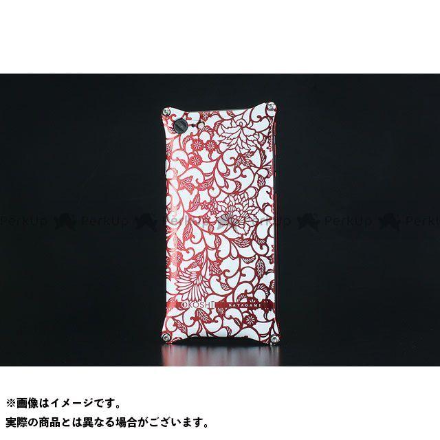 GILD design 小物・ケース類 GOK-270AR OKOSHI-KATAGAMI アラベスク for iPhone 8/7(レッド) GILD design(mobile item)