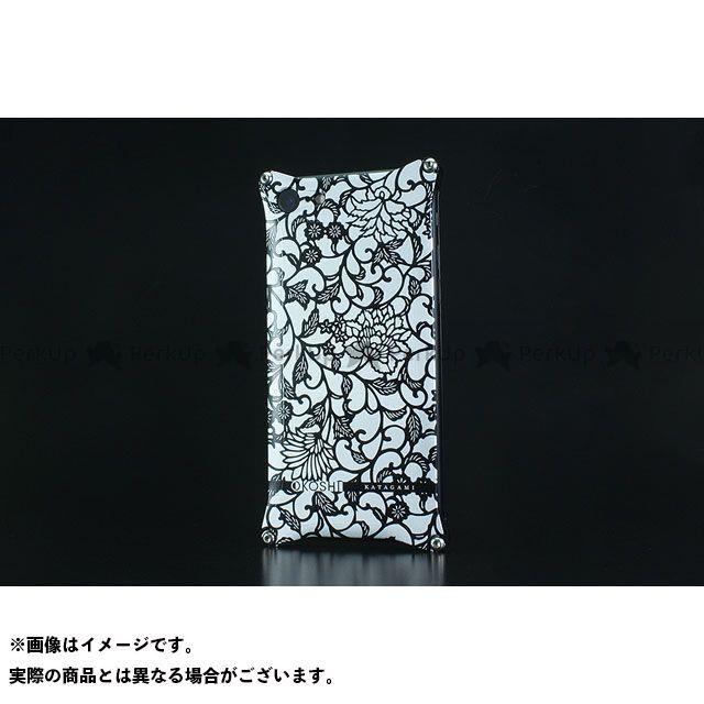 GILD design 小物・ケース類 GOK-270AB OKOSHI-KATAGAMI アラベスク for iPhone 8/7(ブラック) GILD design(mobile item)