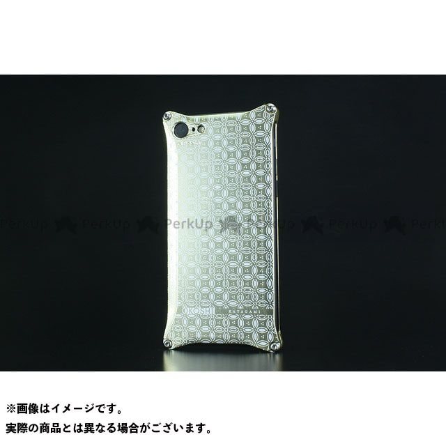 GILD design 小物・ケース類 GOK-270SG OKOSHI-KATAGAMI 七宝 for iPhone 8/7(シャンパンゴールド) GILD design(mobile item)
