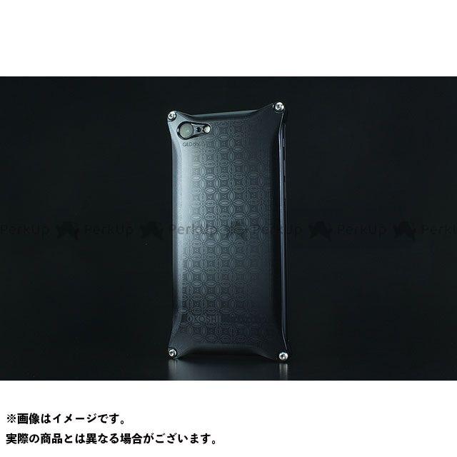 GILD design 小物・ケース類 GOK-270SB OKOSHI-KATAGAMI 七宝 for iPhone 8/7(ブラック) GILD design(mobile item)