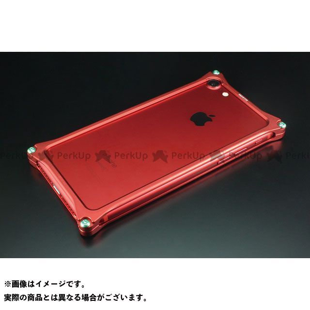 GILD design 小物・ケース類 GIEV-272MRA Solid Bumper for iPhone 8/7(RADIO EVA Limited) Matte RED 式波・アスカ・ラングレー GILD design(mobile item)