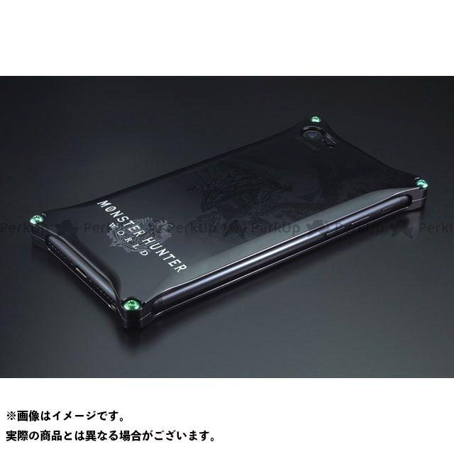 GILD design 小物・ケース類 GI-MON-1 MONSTER HUNTER: WORLD Solid for iPhone 8/7 リオレウス ブラック GILD design(mobile item)