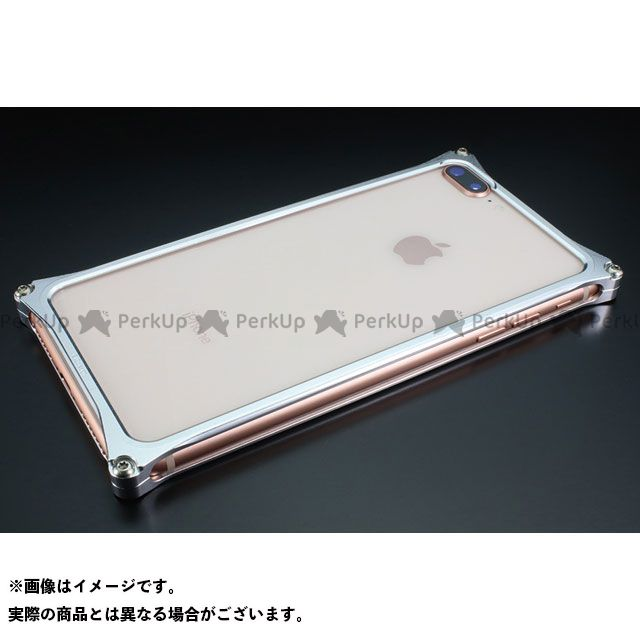 GILD design 小物・ケース類 GI-412S ソリッドバンパーfor iPhone 8Plus/7Plus(シルバー) GILD design(mobile item)
