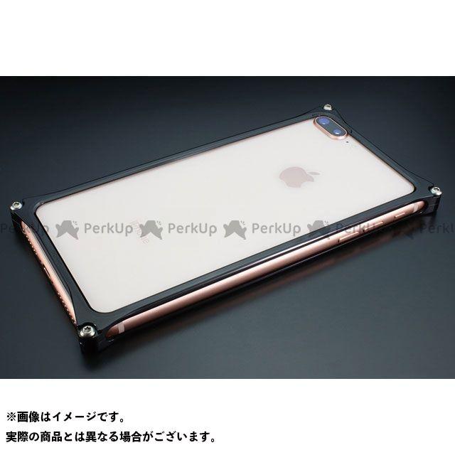 GILD design 小物・ケース類 GI-412PB ソリッドバンパーfor iPhone 8Plus/7Plus(ポリッシュブラック) GILD design(mobile item)