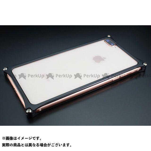 GILD design 小物・ケース類 GI-412B ソリッドバンパーfor iPhone 8Plus/7Plus(ブラック) GILD design(mobile item)