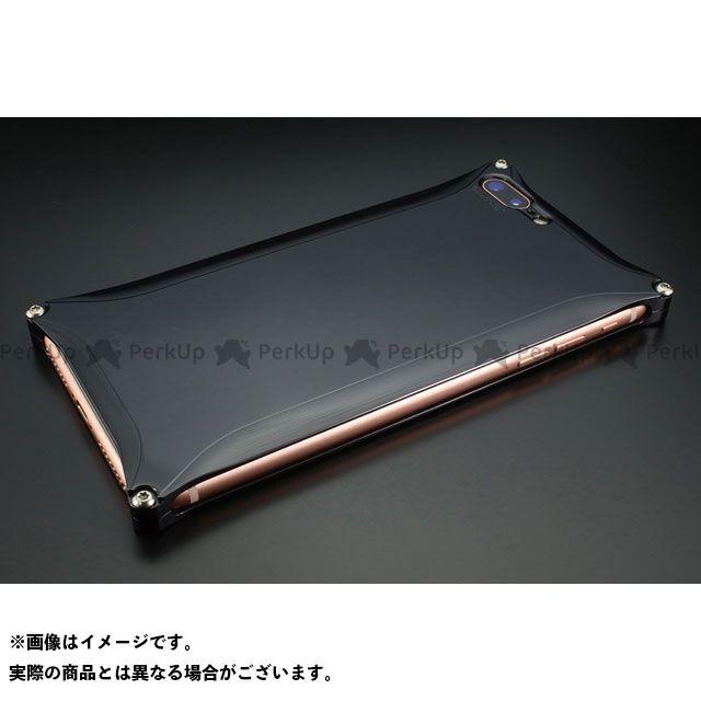 GILD design 小物・ケース類 GI-410PB ソリッド for iPhone 8Plus/7Plus(ポリッシュブラック) GILD design(mobile item)