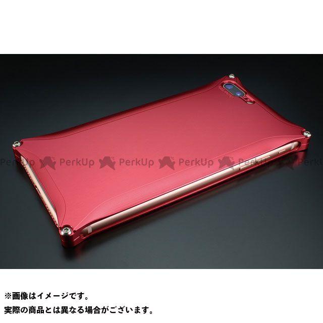 GILD design 小物・ケース類 GI-410R ソリッド for iPhone 8Plus/7Plus(レッド) GILD design(mobile item)