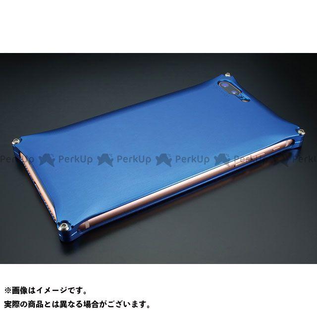GILD design 小物・ケース類 GI-410BL ソリッド for iPhone 8Plus/7Plus(ブルー) GILD design(mobile item)