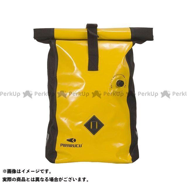 ピラルク PIRARUCU ツーリング用バッグ 休み ツーリング用品 イエロー 無料雑誌付き バックパック GP-002 ブランド激安セール会場