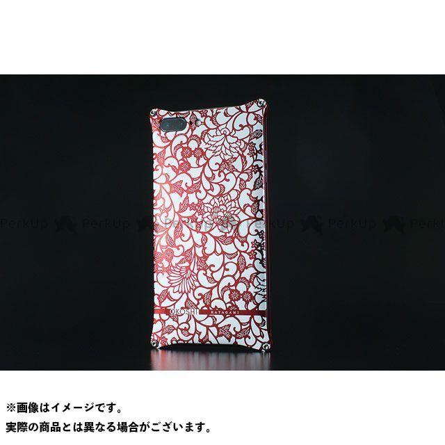 GILD design 小物・ケース類 GOK-280AR OKOSHI-KATAGAMI アラベスク for iPhone 8Plus/7Plus(レッド) GILD design(mobile item)